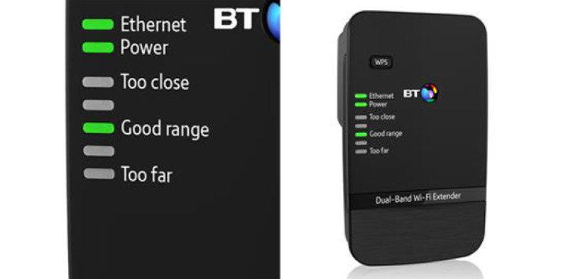 BT Dual-band Wi-fi Extender 600 (dual Band Wifi Extender)