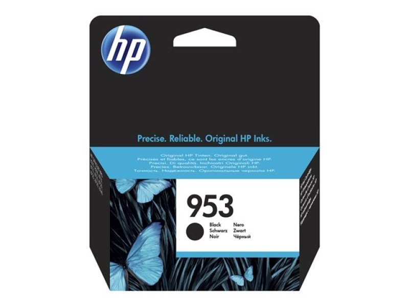 HP 953 Black Original Ink Cartridge - Standard Yield 1000 Pages - L0S58A