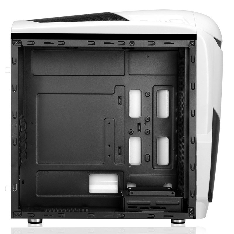 Game Max Nero White MATX Case with Side Window