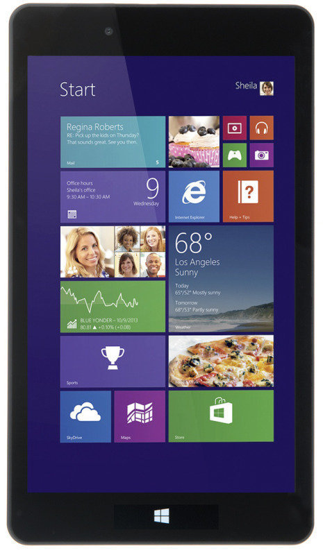 """Refurbished Linx 8 Tablet PC QuadCore Intel BaytrailT 1GB RAM 32GB Flash 8"""" Touch Wifi Bluetooth 2 Cameras Windows 8  Office 365 Personal 12month Subscription"""
