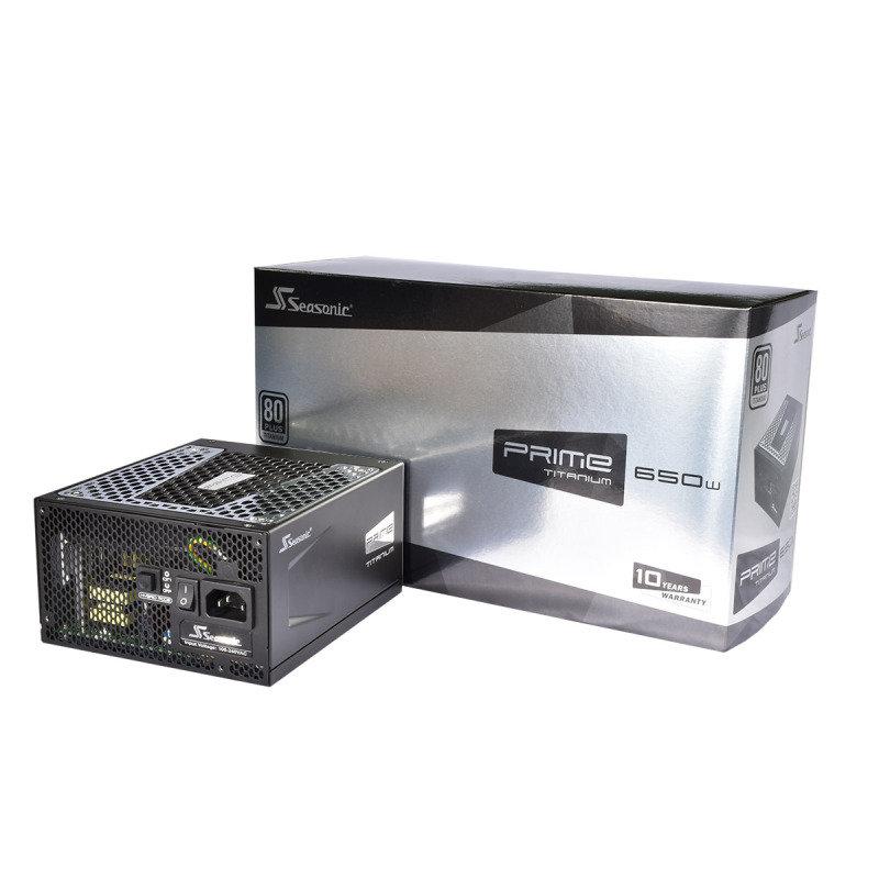 Seasonic Prime 650W Titanium 80 Plus Full Modular PSU