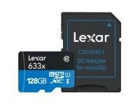 Lexar High Performance flash 128GB microSDXC UHS-I Memory Card