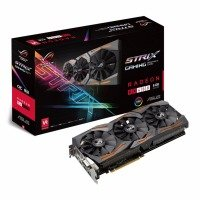 ASUS AMD Radeon RX480 8GB GDDR5 Gaming Graphics Card- STRIX-RX480-O8G-GAMING