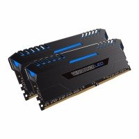 Corsair Vengeance Blue LED 16GB DDR4 3200 Memory Kit- CMU16GX4M2C3200C16B