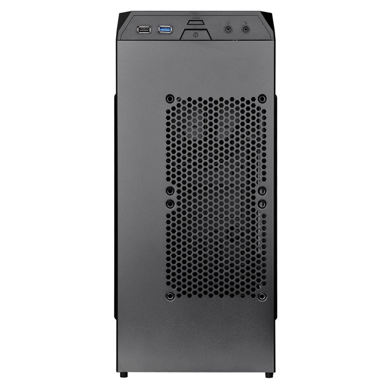 Versa H15 M-ATX Gaming Case USB3 Black Interior