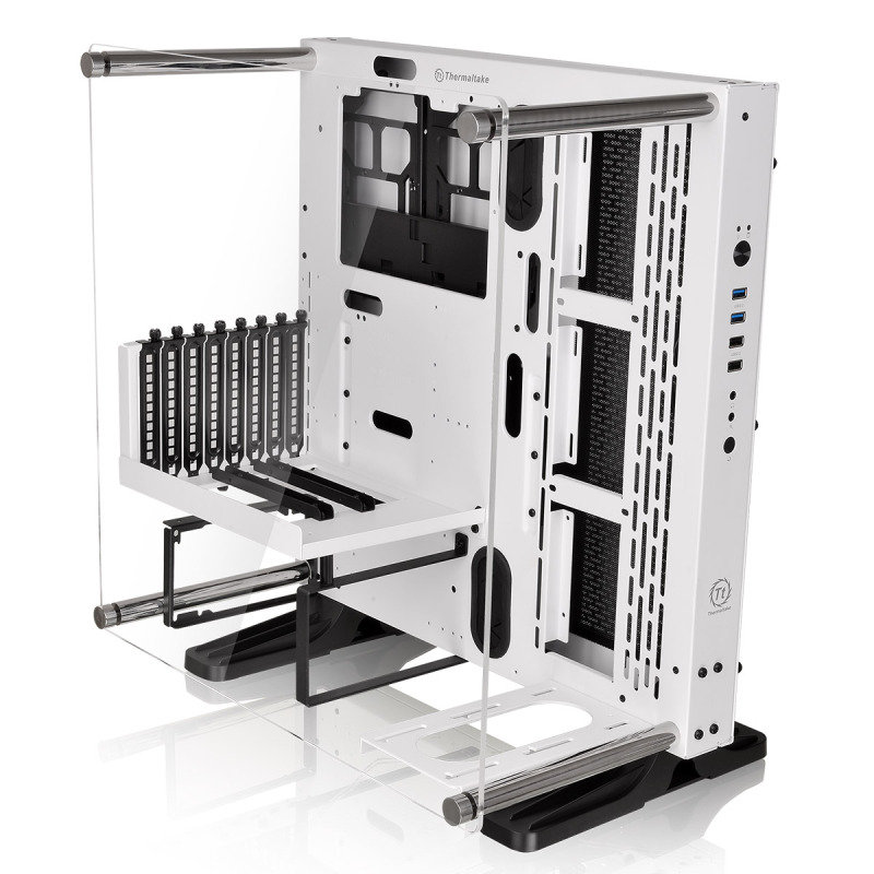 Thermaltake Core P3 Snow Mid Tower ATX Case with Side Acrylic Side