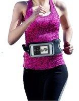 "Navitech Black 5-6"" Smartphone Sports Belt"