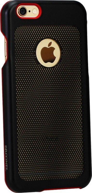 Broonel iPhone 6 & 6S Steel Case - Black