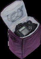 Dslr Camera & Lens Bag - Purple