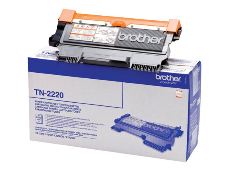 Brother TN-2220 Toner Cartridge - 2,600 Pages