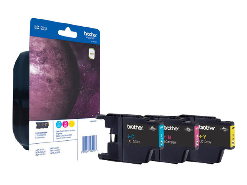 Brother LC123 Rainbow Pack Ink Cartridge