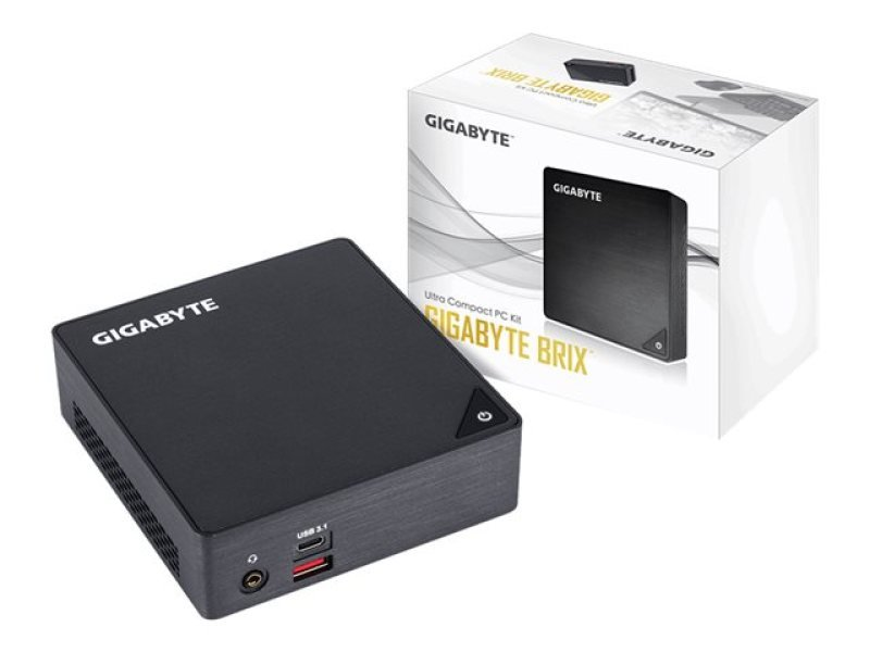 "Gigabyte Kaby Lake i5 BRIX S Barebone Mini PC Kit with 2.5"" SATA Bay GB-BKi5HA-7200"