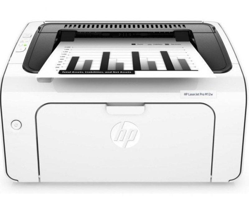 HP M12w LaserJet Pro Wireless Mono Laser Printer