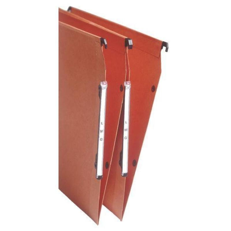 Esselte Orgarex Lateral Suspension File Insert Orange (250 Tabs)