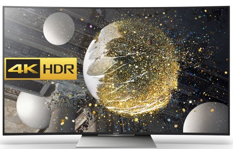 "65"" 4k Uhd Led Curved Tv With Freeview Hd 3840 X 2160 Black 4x Hdmi"