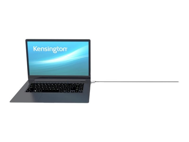Kensington Microsaver 2.0 Keyed Laptop Lock - Security Cable - Silver - 1.83 M