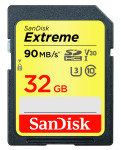 SanDisk Extreme 32GB SDHC UHS-1 Memory Card