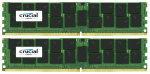 Crucial 32GB Kit (16GBx2) DDR4 2133MHz DIMM PC4-17000 ECC 1.2V Desktop Memory
