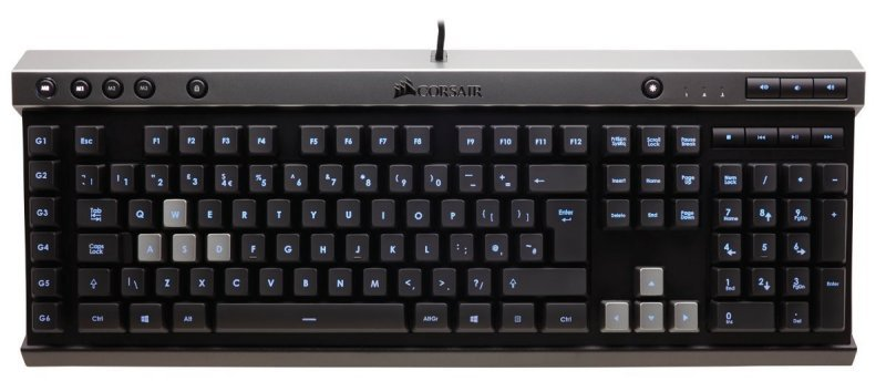 Corsair K40 Gaming Keyboard - Backlit Multicolor LED