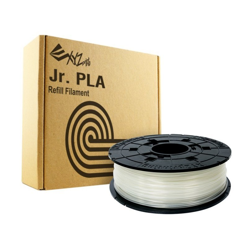 XYZ Da Vinci Junior 1.75mm PLA Filament - Clear