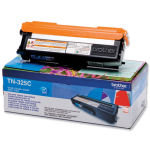 Brother TN-325C Cyan Toner Cartridge - 3,500 Pages