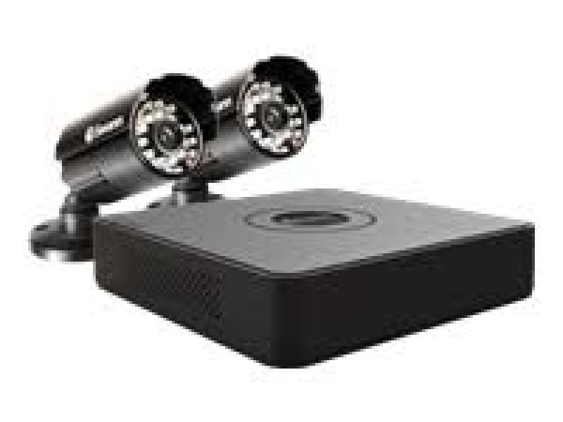EXDISPLAY Swann 4 Channel Mini DVR With 500GB HDD / 2 X Pro-615 Cameras