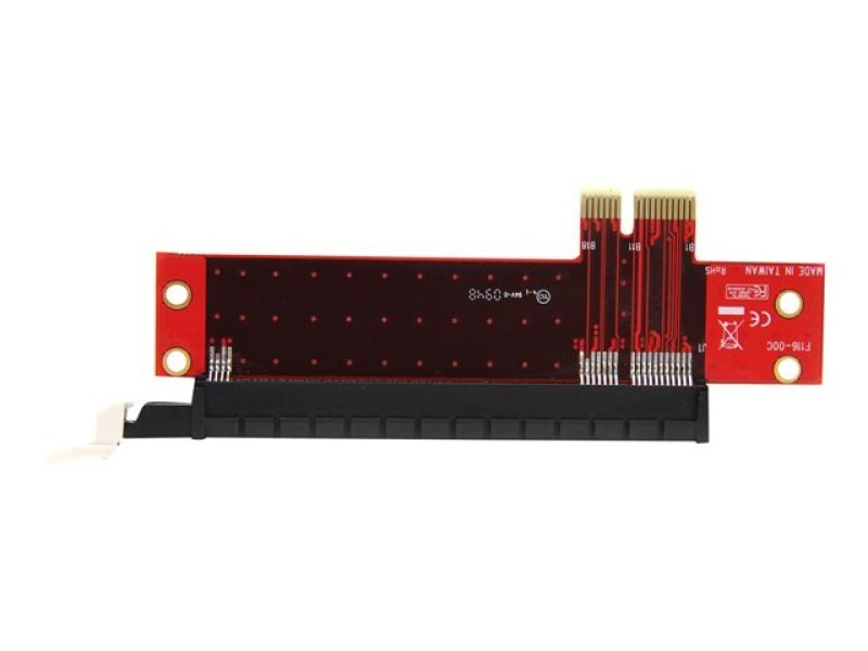 StarTech.com PCI-Express x1 to Low Profile x16 Slot Extension Adapter
