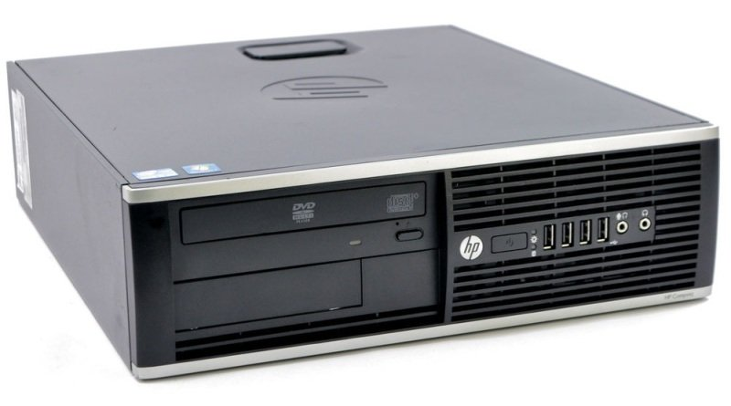 Image of REFURBISHED HP Elite 8300 SFF Desktop PC, Intel Core i5-3470 3.2GHz, 4GB RAM, 120GB SSD, Intel HD, Windows 10 Pro