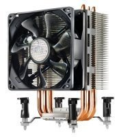 EXDISPLAY Cooler Master Hyper Tx3i 3 direct contact Heat Pipes 92mm fan CPU Cooler