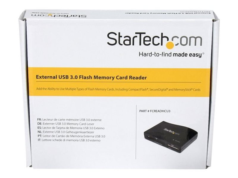 StarTech Multi Media Flash Memory Card Reader
