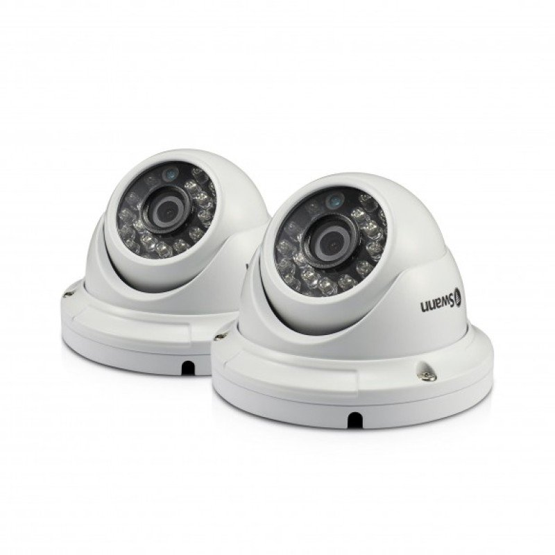 Swann PRO-H856 1080p Multi-Purpose Day/Night Dome Security Camera - 2 Pack