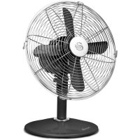 Swan SFA1010BN Vintage Black Desk Fan