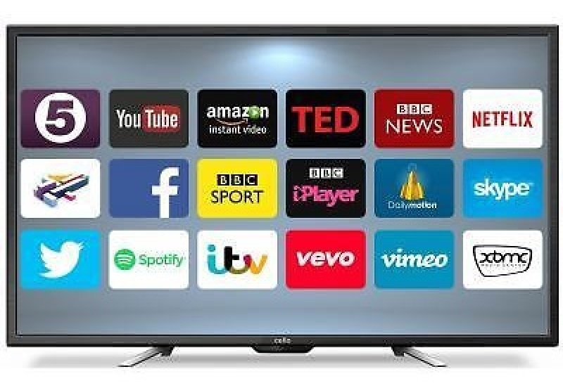 50&quot 4k Uhd Smart Led Tv With Freeview Hd 3840 X 2160 Black 3x Hdmi