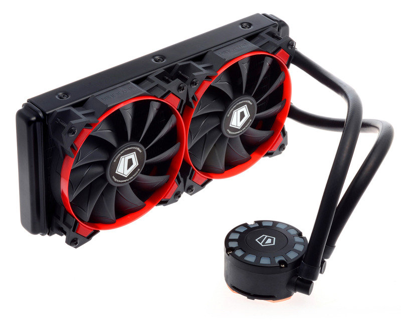 IDCooling FrostFlow 240L-R Watercooling Red LED