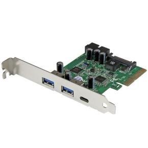 Startech.com 5-Port USB 3.1 (10Gbps) Combo Card - 1x USB-C, 2x USB-A + 2x IDC (5Gbps) - PCIe