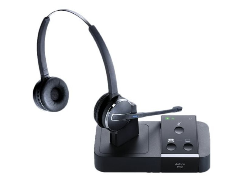 Jabra PRO 9450 Duo Wireless DECT Headset