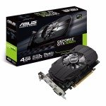 Asus Nvidia GTX 1050 Ti 4GB Phoenix Graphics Card