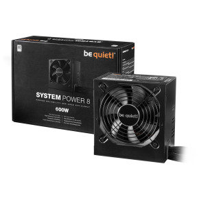 Be Quiet! 600w Psu - System Power 8