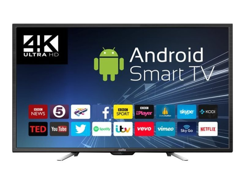 "Cello C50ANSMT 50"" UHD 4K Smart TV"