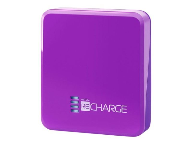 Techlink Recharge 2500 Purple Power Bank