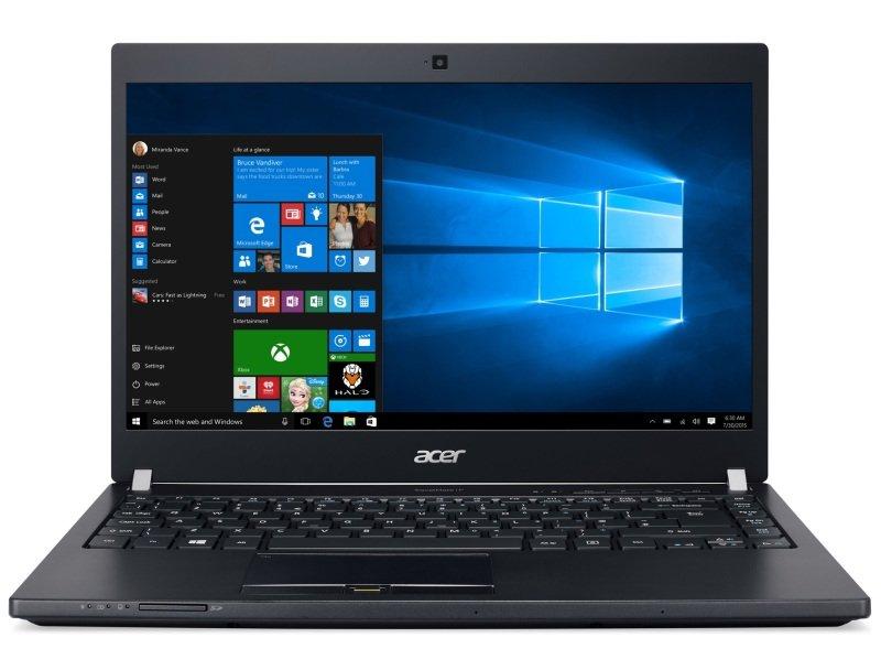 "Acer TravelMate P648M Laptop Intel Core i76500U 2.5GHz 4GB RAM 128GB SSD 14"" LED NoDVD Intel HD WIFI Webcam Bluetooth Windows 10 Pro"