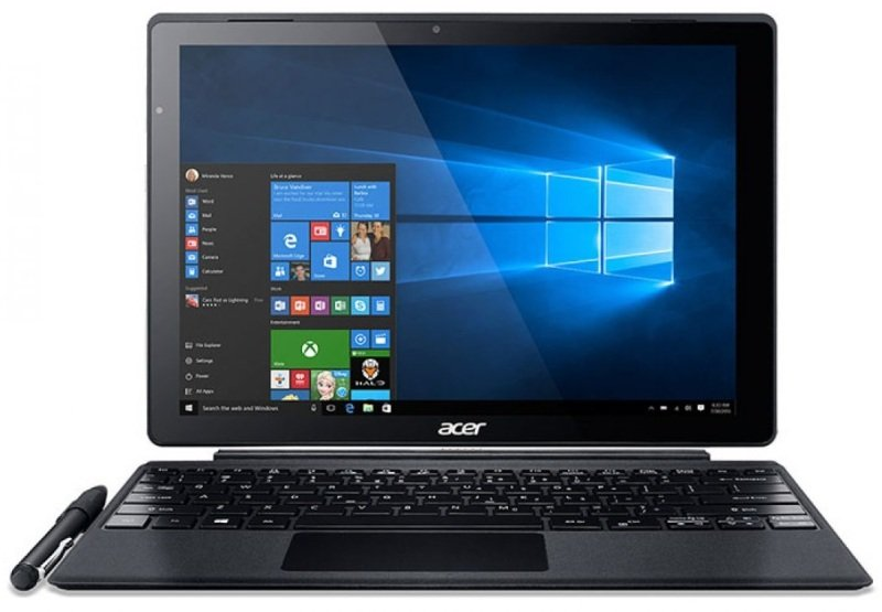 Acer Switch Alpha 12 2in1 Intel Core i76500U 2.5GHz 8GB RAM 256GB SSD 12&quot QHD Touch 2160 x 1440 NoDVD Intel HD WIFI Webcam Bluetooth Windows 10 Home 64bit