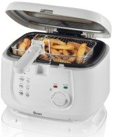 Swan SD6080N 2.5L Square White Fryer