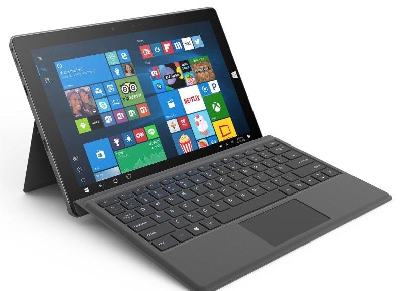 "Linx 12V64 12.2"" 64GB Tablet  with Keyboard  Black"