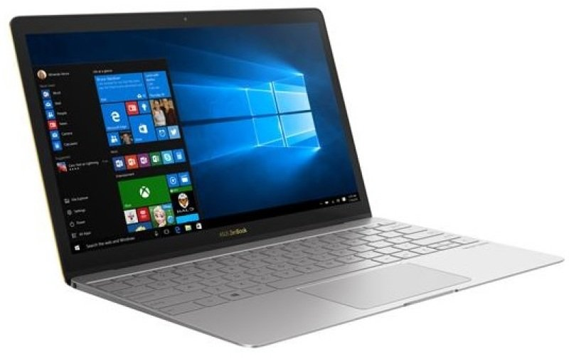"ASUS ZenBook 3 UX390UA Ultrabook Intel Core i77500U 2.7GHz 16GB RAM 512GB SSD 15.6"" LED NoDVD Intel HD WIFI Webcam Bluetooth Windows 10 Home 64bit  quartz grey"