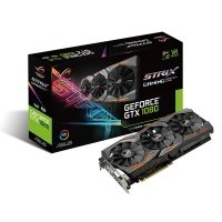 EXDISPLAY Asus GeForce GTX 1080 8GB GDDR5X DVI-D HDMI 2x DisplayPort PCI-E Graphics Card