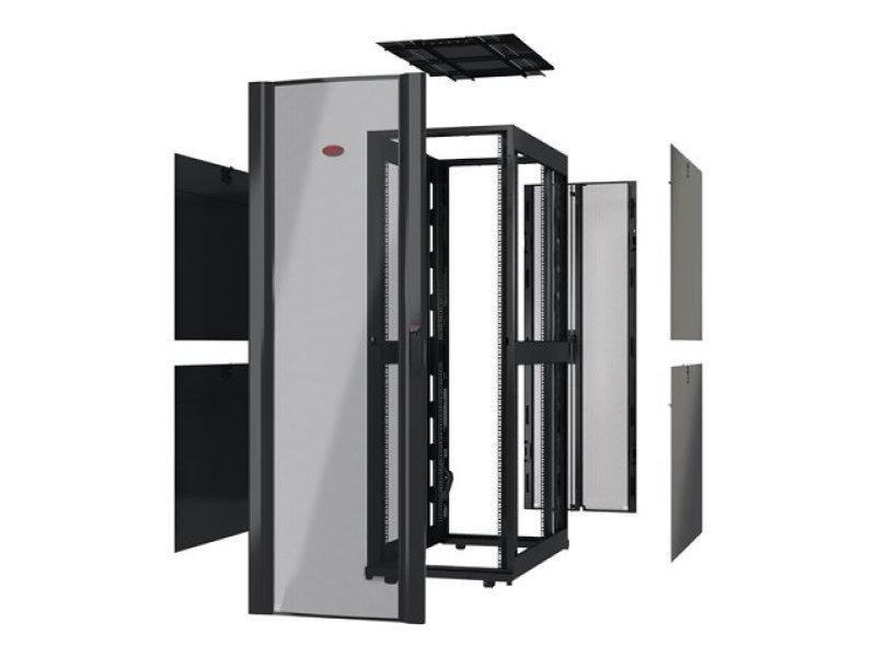 APC Netshelter SX 42U 750mm Wide x 1070mm Deep Enclosure Without Sides Black - AR3150X609