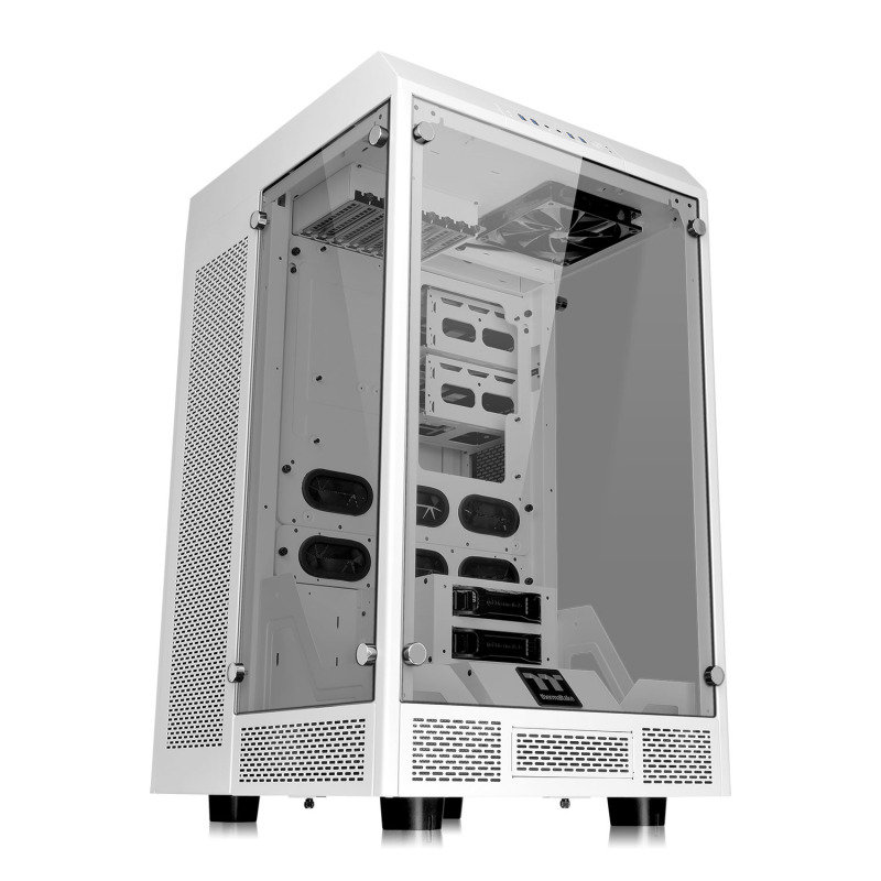 The Tower 900 Snow Edition EATX Vertical Super Tower Chassis
