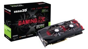 Inno3D Nvidia GeForce GTX 1070 Gaming OC 8GB GDDR5 Graphics Card- N1070-1SDN-P5DNX