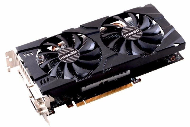 Inno3D Nvidia GeForce GTX 1060 X2 3GB GDDR5 Graphics Card- N106F-2SDN-L5GS